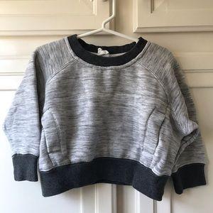 Stem Cropped Sweatshirt 2T